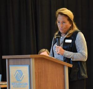 Boys & Girls Club board member Debbie Boehner