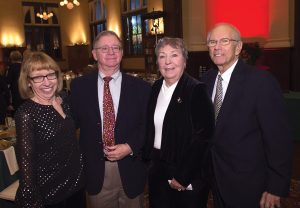 Ruth Schwallie and Mark Silbersack with Mary Lu and Dick Aft