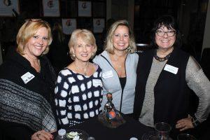 Linda Bauer, Patti Massy, Cheryl Borland and board member Kelly Kolar