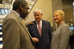 Bill Strickland, Bob Castellini and Kay Geiger