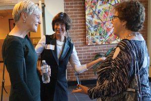 CATS board chair Karen Bowman, Shannon Carter and Kathy Merchant