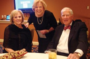 Joe and Ellen Creaghead with Carol Beirne (standing)