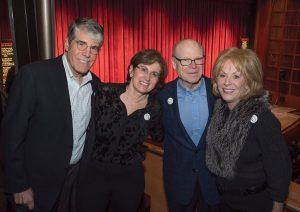 David and Karen Hoguet with David and Dianne Rosenberg