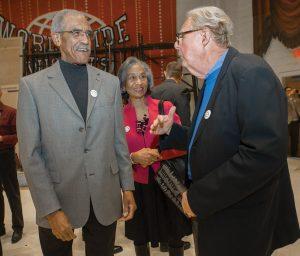 Dr. Alvin Crawford, Jean Crawford and Dr. Jack Hahn