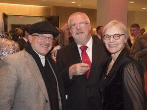 Keith James, Karl Grummich, Donna Sontag Grummich