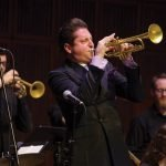 Brian Newman with the CCM Jazz Orchestra