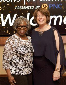 Honoree Diane Jordan-Grizzard with 4C president/CEO Vanessa Freytag