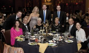 PNC table guests: (seated) Shawna Kinsel, Todd Papes, Michelle Kaye, Kay Geiger, Jack Geiger and Pam Weber; (standing) Mark Kinsel, Missy Deters, Scott Stieber and Warren Weber