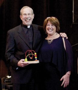 The Rev. Michael Graham, an honoree, and 4C President/CEO Vanessa Freytag