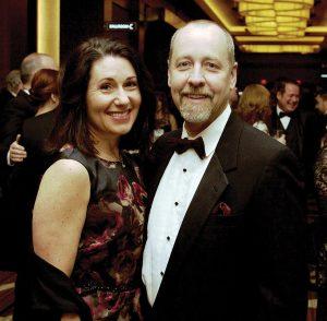 4C Trustee Mindy McLaughlin and David Hinaman