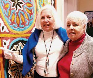 Judy Becker and Diane Kerkhoff