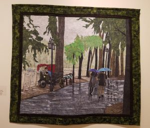 """""""Rainy Day in Old Beijing"""" by Larry McKenney"""