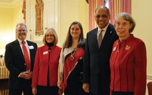 Edward and Angie Carl, Jennifer and Neville Pinto, and Mary Ellen Betz