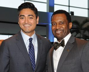 Aftab Pureval and Sean Rugless