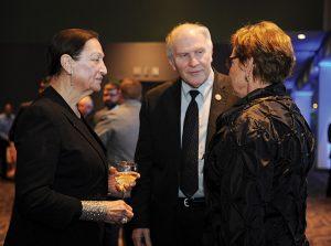 Honoree Judith Van Ginkel with U.S. Rep. Steve Chabot