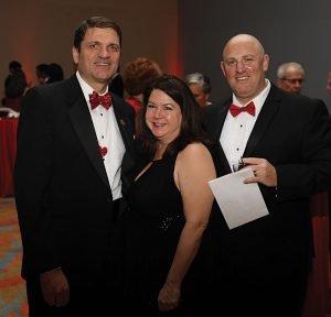 Dr. Stephen Lewis, Dr. Marcie Lewis and Reid Matlin