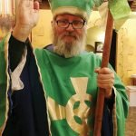 St. Patrick in his element
