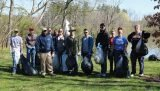 Volunteers at the 2017 Winton Woods cleanup
