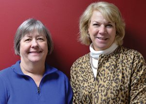 Event vice chair Linda Holthaus and chair Julie Ross