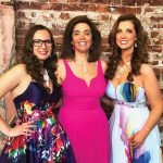 Becky Gaible, gala manager; Petra Vester, event chair; and Melissa Newman, executive director