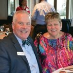 Kurt Reiber, CEO and president of Freestore Foodbank, with Karen Reiber