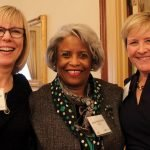 Kathy McMullen, Janet Butler Reid and Mary Miller