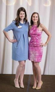 Alicia Taylor and Kathryn DeNicola