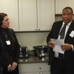 Center CEO Laurie Nelson and Dr. O'dell Owens, CEO of Interact for Health