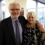 Rabbi Irving Wise and Kathy Wise from Adath Israel Congregation