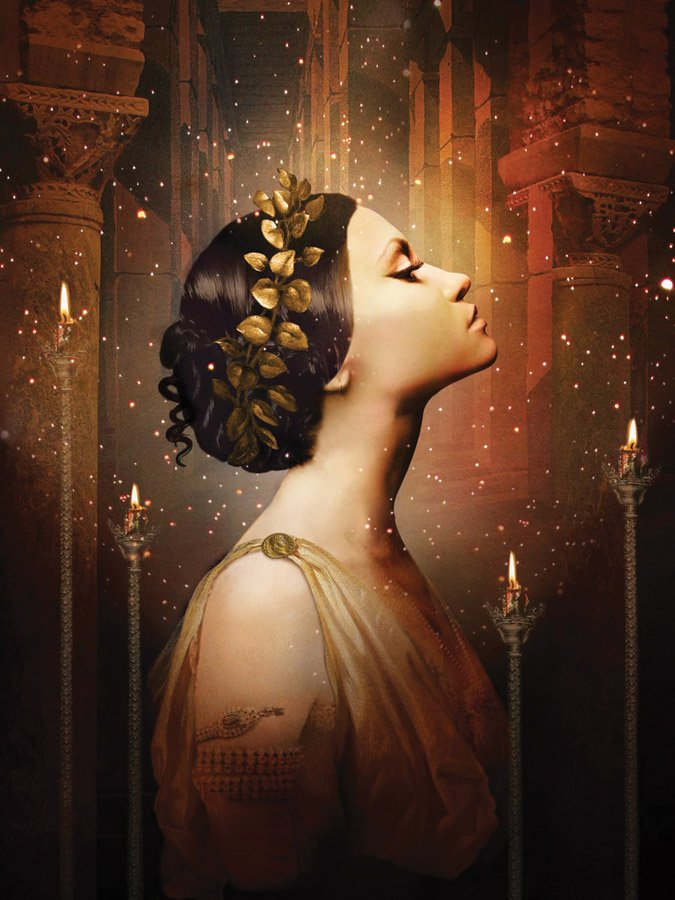 'The Coronation of Poppea' illustration by Catrin Welz-Stein