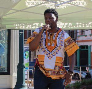 Elementz performer at Community Night @ Findlay Market