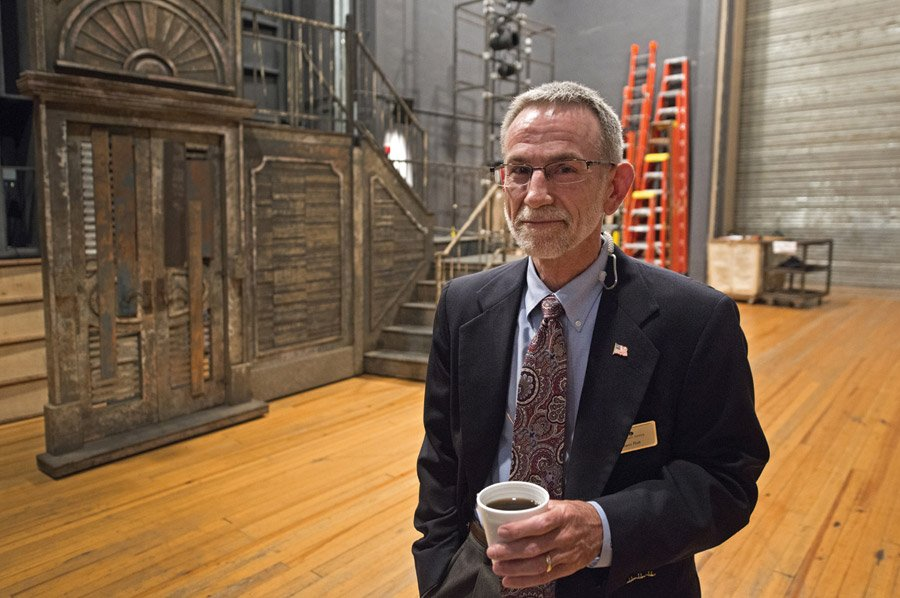 Glenn Plott, Cincinnati Opera's director of production, championed the production.