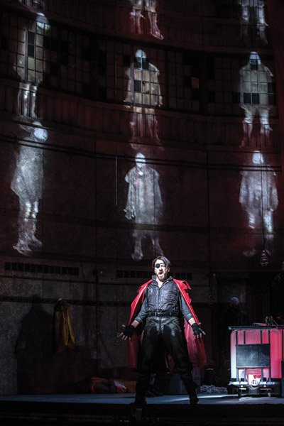 "Cincinnati Opera's new production of ""The Flying Dutchman"" (Pictured: Wayne Tigges as the Dutchman in the production at The Atlanta Opera.)"