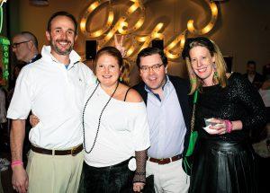 Ted and Liz Dohrmann with Beau and Abby Tuke
