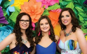 Becky Gaible, Hadley George, Melissa Newman