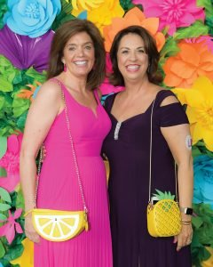 Gala chair Petra Vester and board president Susan Mustian