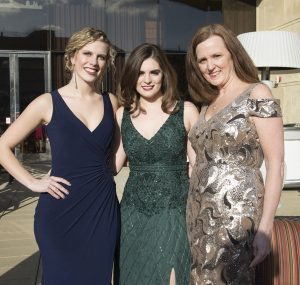 Nicole Bushwaty, Courtney Grdina and Susan Grdina