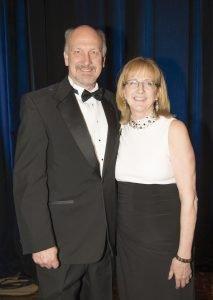 PWC President Jock Pitts and Deb Pitts