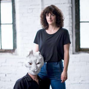 Choreographer Susan Honer and sculpture artist-composer Sean Simon
