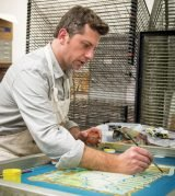 James Billiter in his studio (Photo by Melissa Doss Photography)