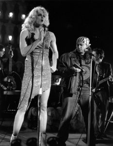 "Todd Almond and a. Beth Harris in ""Hedwig and the Angry Inch."" (2003) Photo by Sandy Underwood"