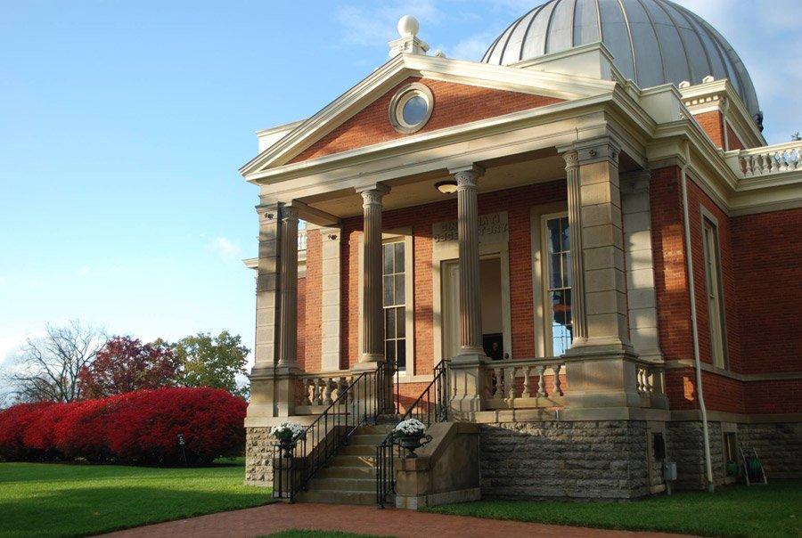 Cincinnati Observatory, site of the Celestial Sips event