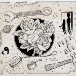"""Flash sheet, """"Zero Hour"""" by Steven Mast, inspired by the Ray Bradbury short story of the same name."""
