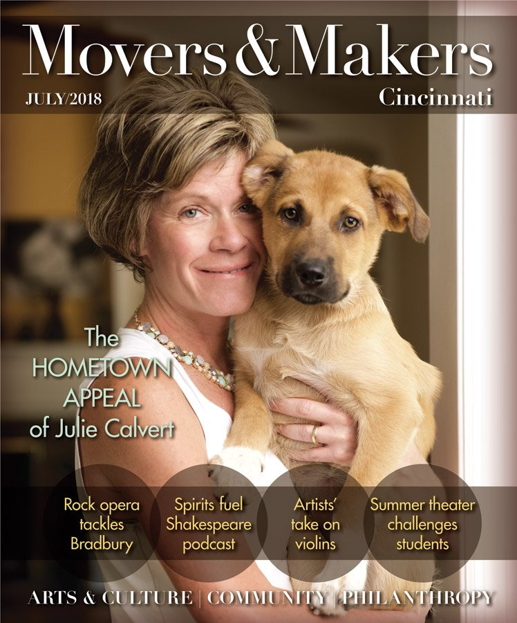 Movers & Makers July 2018 cover