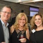 John and Christine McKenzie with Amelia Orr, COCA executive director