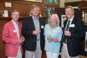 Rob Scallan, Rich Oliver, Debbie Oliver and John Armstrong