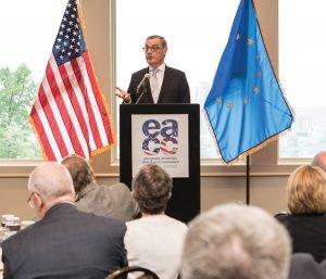Ambassador David O'Sullivan, keynote speaker