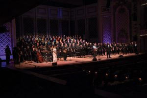 Rollo Dilworth and Sing Hallelujah community concert performers