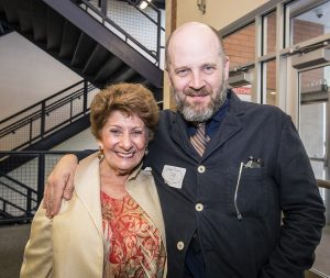 Marsha Goldsmith and Todd Louiso