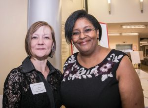 Alum Amy Steir and Artistic Director Angela Powell Walker